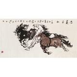 王向阳 四尺《忠义千秋》 中国美术家协会会员(询价)