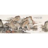 廖崧越 小六尺《馀韵吟天籁》 广西桂林美协会员
