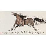 王向阳 四尺《一马当先》 中国美术家协会会员(询价)