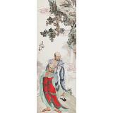 曹建涛 小四尺《自在图》独具特色水墨人物画家