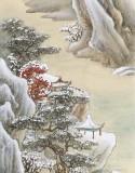 【已售】何实 四条屏《四时佳兴》吉林著名山水画家
