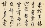 夏广田 八尺对开《毛泽东诗词》著名启功体书法家(询价)