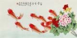 凌雪 三尺《富贵有余》 北京美协会员