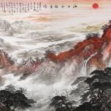 【已售】李碧峰 大丈二《江山如此多娇》 中国书画家协会理事