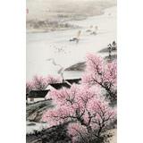 刘金河 作品《春语》中国美术家协会会员