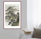 刘金河 《春山叠翠》中国美术家协会会员