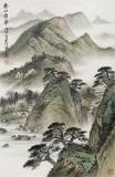 【已售】刘金河 《春山叠翠》中美协会员 国家画院画家