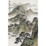 刘金河 《春山叠翠》中美协会员 国家画院著名山水画家