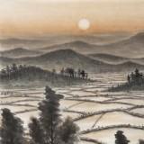刘金河 《晚晴》中美协会员 国家画院著名山水画家
