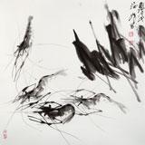 孙海峰 四尺斗方《游龙图》 安徽省美协会员