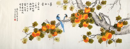 【已售】凌雪 小六尺《事事如意》 北京美协会员