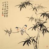 皇甫小喜 四尺斗方《可留清韵待群贤》 河南著名花鸟画家