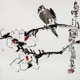 王永刚 指墨作品《春晖图》 国家一级美术师