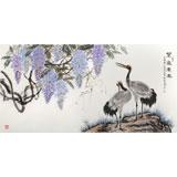 朱祖义 四尺《紫气东来》 中国老子书画院副院长