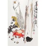 王永刚 《菊黄蟹肥》 国家一级美术师