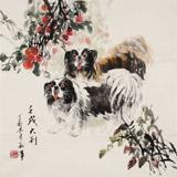 尹和平 四尺斗方《大利》 当代乡土童趣绘画名家
