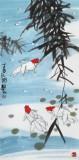王永刚 三尺《鸿运当头》 78岁国家一级美术师