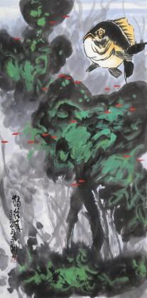 王永刚 三尺《独往来》 国家一级美术师