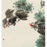 王永刚 三尺斗方《三余图》 78岁国家一级美术师