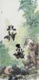 王永刚 三尺《双龙出海》 国家一级美术师
