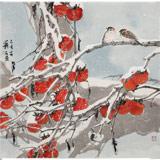 【已售】陈薪名《事事如意》吉祥水墨 第六届全国花鸟画展金奖获得者