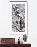 陈薪名《雪韵》代表作精品 第六届全国花鸟画展金奖获得者