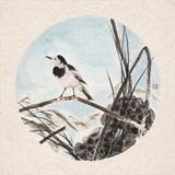 陈薪名《藕塘清趣》 第六届全国花鸟画展金奖获得者