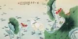 凌雪 四尺《路路皆通》 北京美协会员