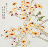 凌雪 四尺斗方《春花浪漫》 北京美协会员