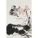 陈薪名《和和美美》 第六届全国花鸟画展金奖获得者
