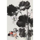 【已售】陈薪名《和和美美》 中美协会员 第六届全国花鸟画展金奖获得者