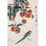 陈薪名《事事如意》 第六届全国花鸟画展金奖获得者