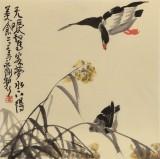 王永刚 四尺斗方《居高声自远》 78岁国家一级美术师
