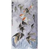 王永刚 六尺《神仙世界》 78岁国家一级美术师