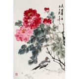 陈薪名《秀冠群芳》 中美协会员 第六届全国花鸟画展金奖获得者