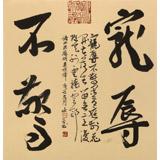 姚宏宇 三尺斗方草书《宠辱不惊》