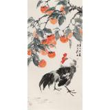 陈薪名《事事大吉》 中美协会员 第六届全国花鸟画展金奖获得者