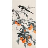 陈薪名 三尺《事事如意》中美协会员 第六届全国花鸟画展金奖获得者