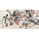 陈薪名《事事如意》 中美协会员 第六届全国花鸟画展金奖获得者
