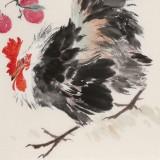陈薪名《大吉大利》中美协会员 第六届全国花鸟画展金奖获得者