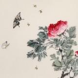 陈薪名《花开富贵》 中美协会员 第六届全国花鸟画展金奖获得者
