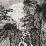 吴显刚 《林泉清音图》 贵州七星关美协主席