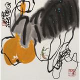 王永刚 斗方小品《秋趣图》 78岁国家一级美术师