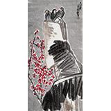 王永刚 三尺《梅雪精神》 国家一级美术师