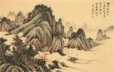 吴显刚 《云山图》 贵州七星关美协主席
