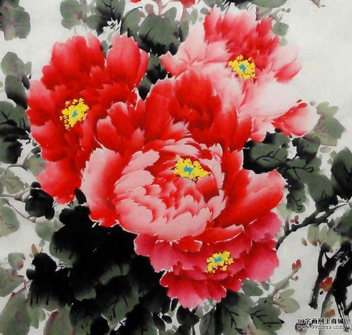 中国画梅花的画法《《简笔画和平鸽的画法《《中国画