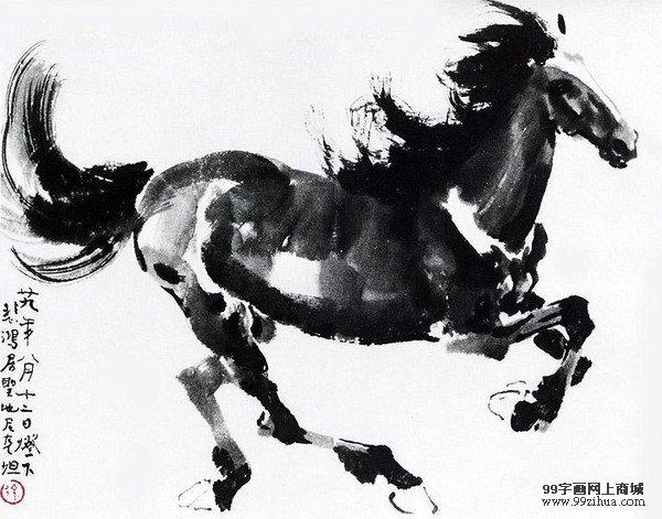 擅长画马的中国画家