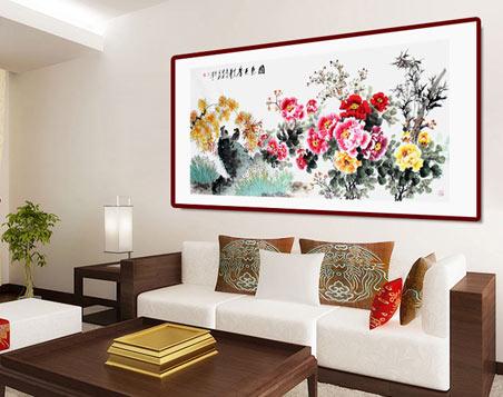 【客厅字画】客厅挂画