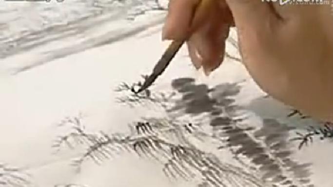 """一要""""先工后写"""",必须从笔墨工整的画迹开始临,把山、石的结构,树木的穿楚,为老老实实地学会各种笔法、墨法,打下扎实的基础。切不可好高骛远,一开始就学写意泼墨山水,追求所谓笔墨情趣,那会误入歧途的; 二要""""由近及远"""",根据自己的喜爱、先学近代某一家的作品。 自己喜爱则易有兴趣,时代相近则易接受。如果能从师学习,有老师当面指点就更好了。在笔墨技法上,摸到一些门径以后,再临摹古代名家的画迹; 三要""""由专到博"""",切忌朝三暮四,浅尝辄止,以免到"""