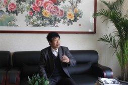 何华贤先生做客99字画网